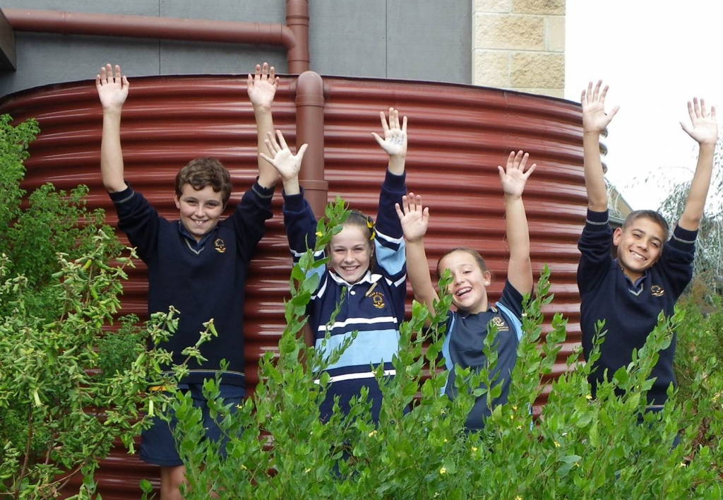 Students currently working with CERES Outreach as part of the ResourceSmart Schools program