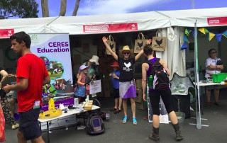 CERES at the Sustainable Living Festival Big Weekend