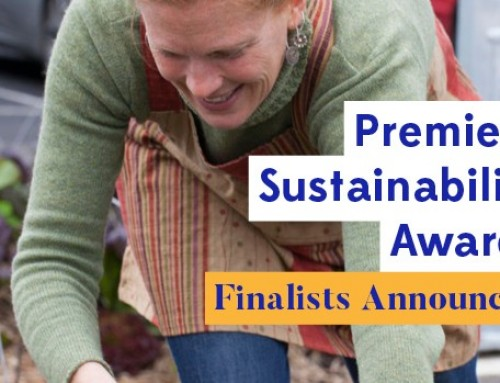 CERES is a finalist in the Premier's Sustainability Awards 2017
