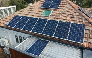 EcoHouse, solar arrays and a glimpse of heat pumps and battery technology