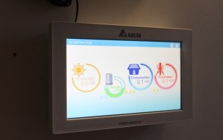 Energy Smart Monitor in the entrance